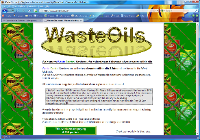 Featured site - Waste Control Services - Click to open.